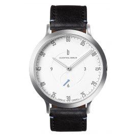 Lilienthal Berlin L01-101-B004A Armbanduhr L1 silber/weiß/schwarz