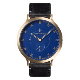 Lilienthal Berlin L01-104-B004B Wristwatch L1 gold/blue/black