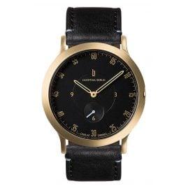 Lilienthal Berlin L01-206-B004B Armbanduhr L1 Klein gold/schwarz