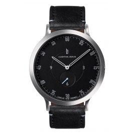 Lilienthal Berlin L01-105-B004A Armbanduhr L1 silber/schwarz