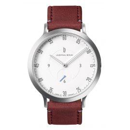 Lilienthal Berlin L01-101-B020A Armbanduhr L1 silber/weiß/amarena