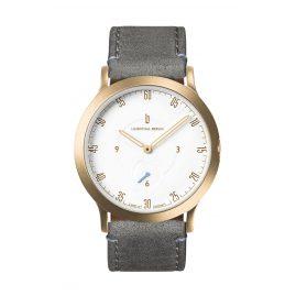 Lilienthal Berlin L01-202-B009B Uhr L1 Klein gold/weiß/grau