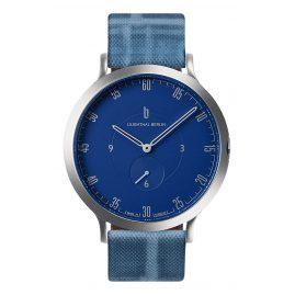 Lilienthal Berlin L01-103-B024A Armbanduhr L1 silber/blau/riverside