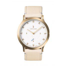 Lilienthal Berlin L01-202-B022B Armbanduhr L1 Klein gold/weiß/creme