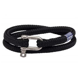 Pig & Hen P10-90000 Men's Bracelet Salty Steve Black
