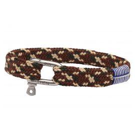 Pig & Hen P07-53706 Armband in Unisexgröße Army/Braun/Sand