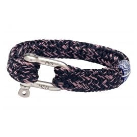 Pig & Hen P14-63453 Men's Bracelet Gorgeous George Navy/Violet