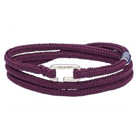 Pig & Hen P25-65000 Men's Bracelet Savage Sam Purple