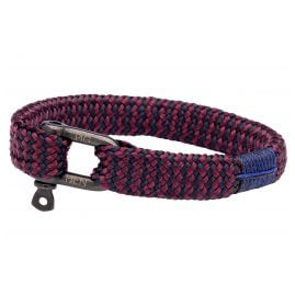 Pig & Hen P07-63653 Men's Bracelet Sharp Simon Navy/Purple