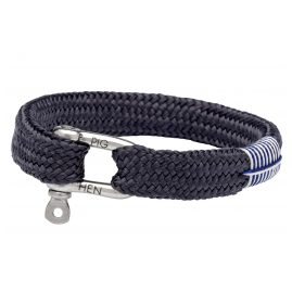 Pig & Hen P07-82000 Men's Bracelet Sharp Simon Slate Grey