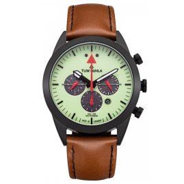 TUW Ruhla 51243-162614 Solar-Herrenarmbanduhr Chronograph Aviator