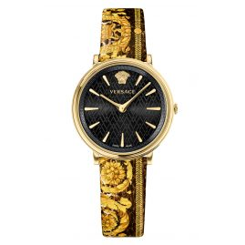 Versace VBP130017 Damenuhr V-Circle Tribute Edition Schwarz