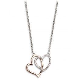Xenox XS2776R Damen Silber-Halskette Love Story