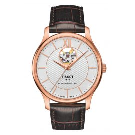 Tissot T063.907.36.038.00 Herrenarmbanduhr Tradition Automatic Open Heart