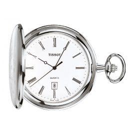 Tissot T83.6.508.13 Taschenuhr Savonette Quarz