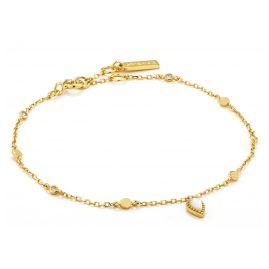 Ania Haie B016-03G Armband für Damen Silber 925 Goldplattiert Dream