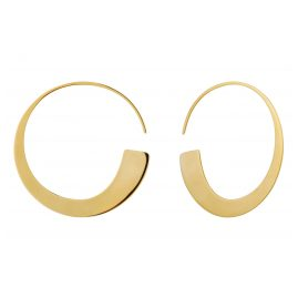 Ania Haie E005-01G Damen-Ohrringe Creolen Geometry Slim