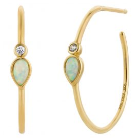 Ania Haie E014-04G Damen-Ohrringe Opal Colour Raindrop
