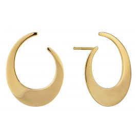 Ania Haie E008-21G Damen-Ohrringe Oval Twist