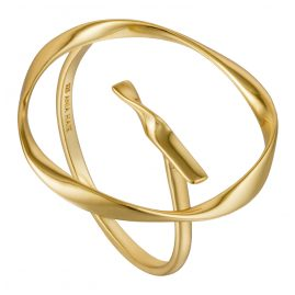 Ania Haie R015-01G Damen-Ring Twist Circle