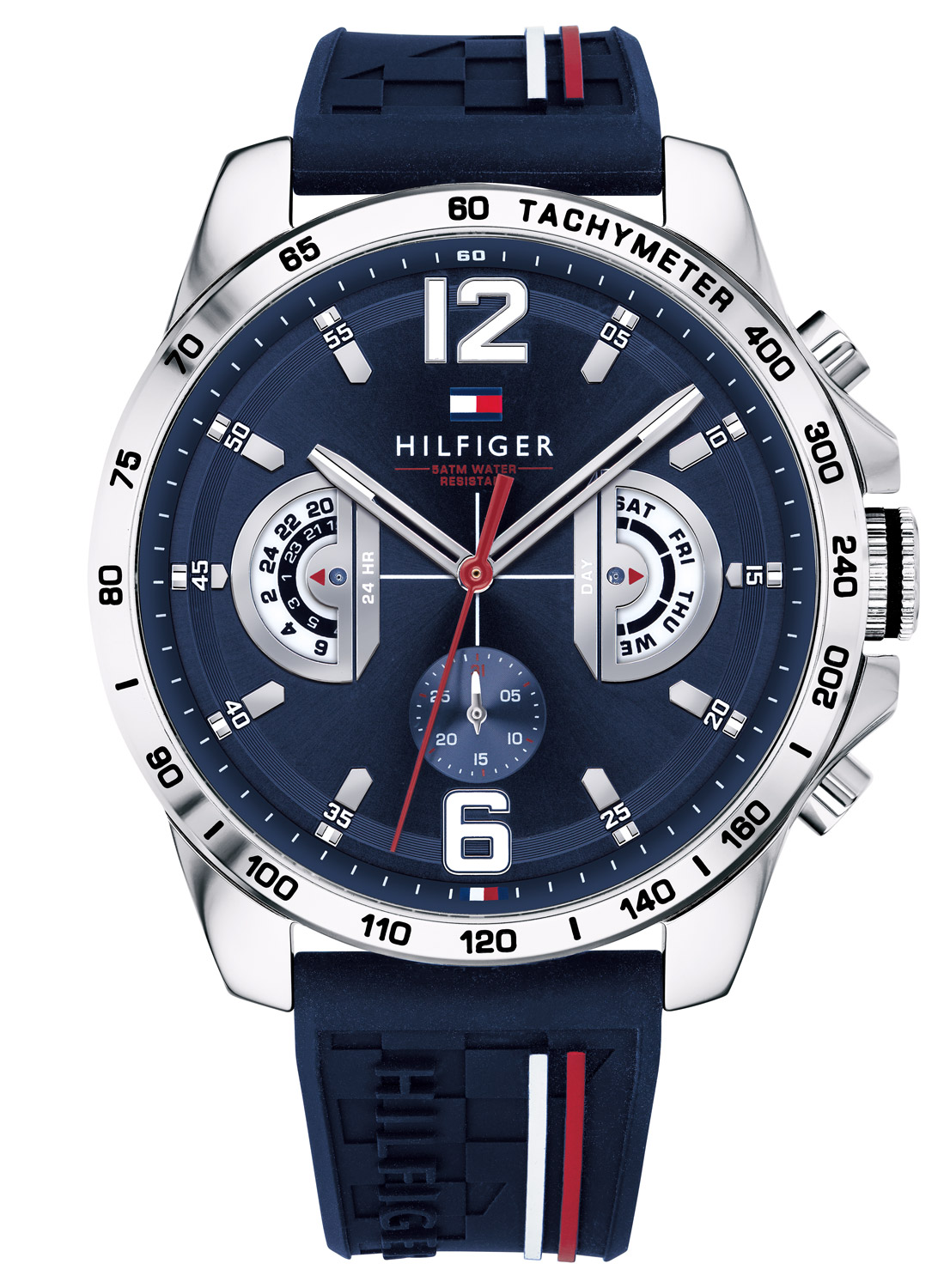 TOMMY HILFIGER Mens Multifunction Watch Decker 1791476 2d1e58bab1a