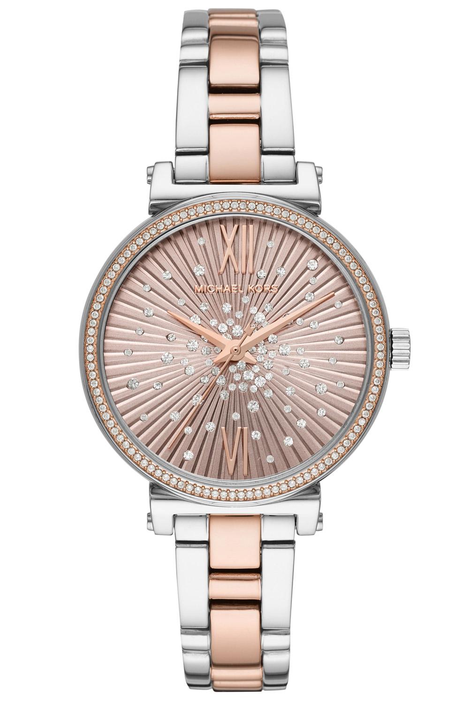 ef34a4f3bb447 MICHAEL KORS Ladies  Wristwatch Sofie Two-Tone MK3972
