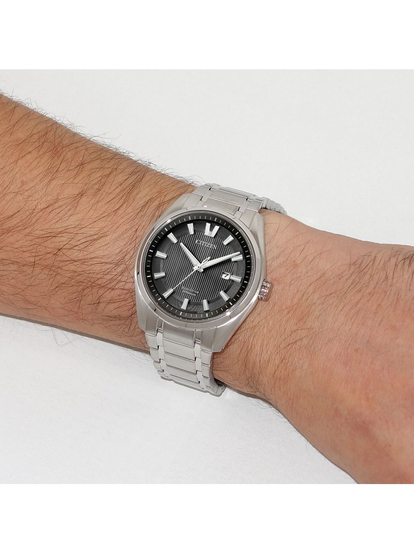 ... Citizen AW1240-57E Eco-Drive Super Titanium Mens Watch Image 4 ... 527bf75d6dd9b