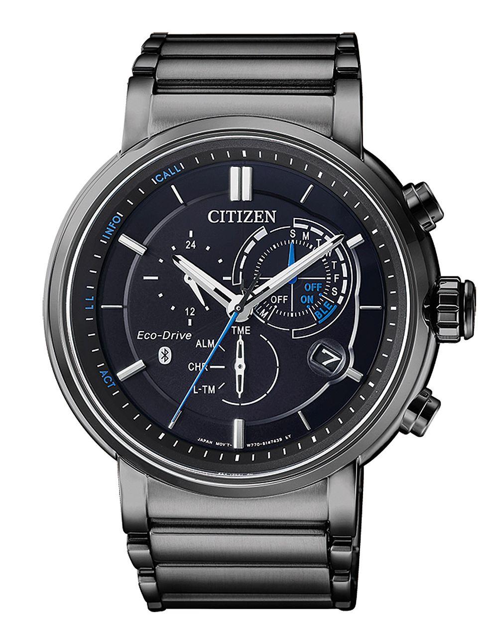 Citizen BZ1006-82E Smartwatch Eco-Drive Bluetooth Mens Watch Image 1 ... 3835ecd3db