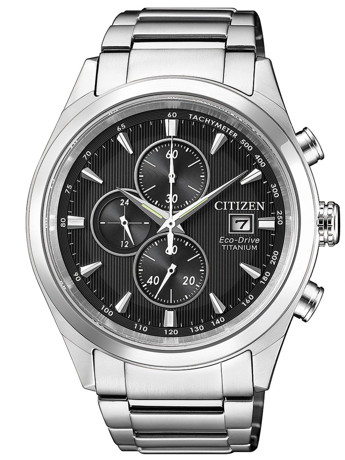 d3e035500 Citizen CA0650-82F Mens Watch Chronograph Eco-Drive Super Titanium Image 1  ...