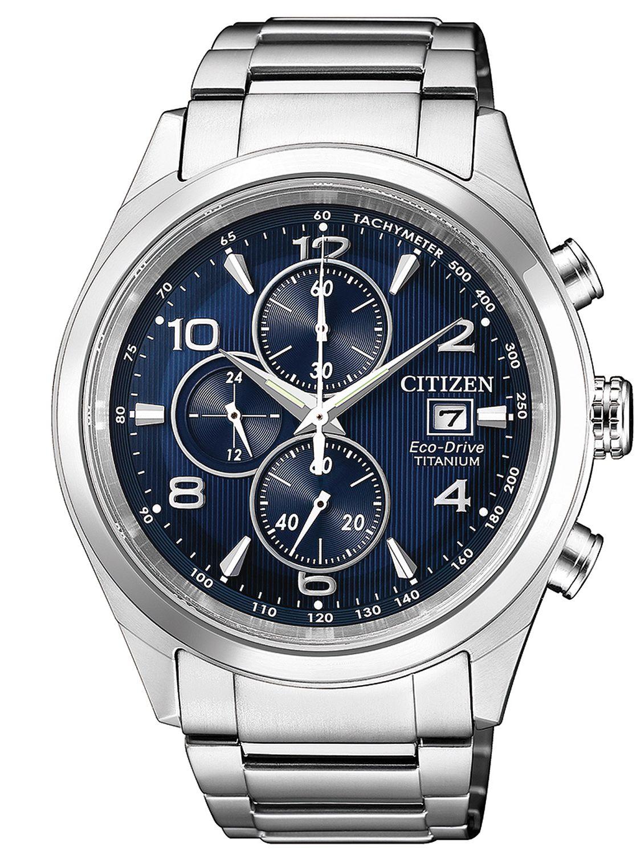 e75392b330a Citizen CA0650-82L Mens Watch Chronograph Eco-Drive Titanium Image 1 ...