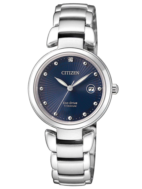 Citizen eco drive ladies watch titanium ew2500 88l for Eco drive watch