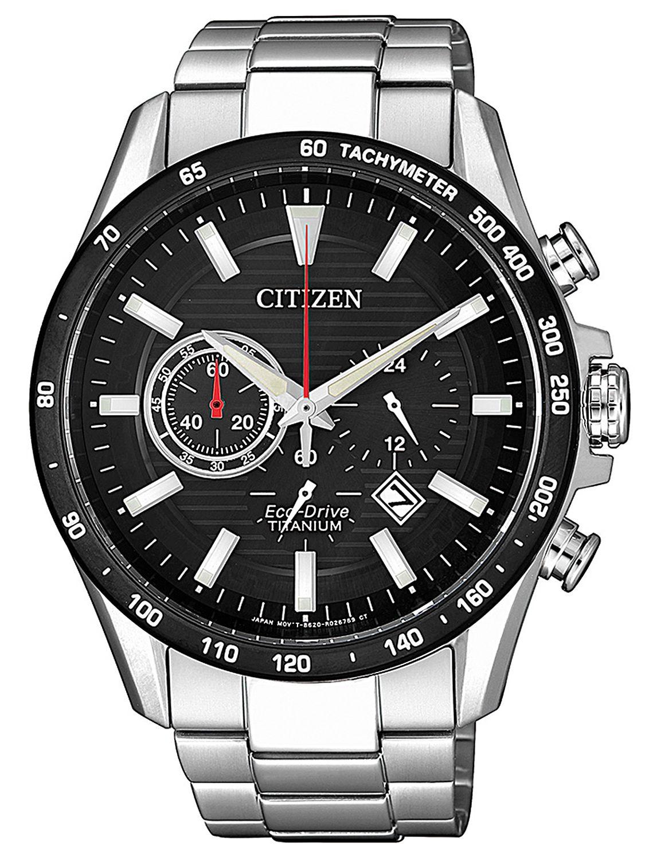 a147ba985 Citizen CA4444-82E Men´s Watch Eco-Drive Chronograph Titanium