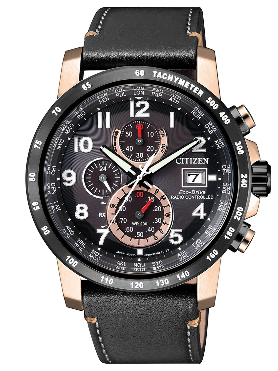 686a6616d Citizen AT8126-02E Radio Controlled Eco-Drive Mens Chronograph Image 1 ...