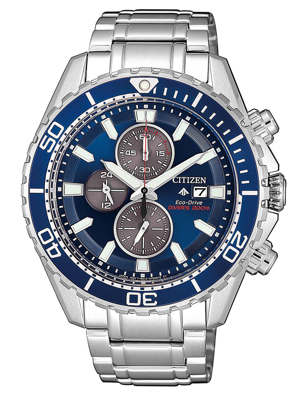 5bbb6dc02c1 Citizen CA0710-82L Promaster Men's Watch Eco-Drive Diver's Chronograph ...