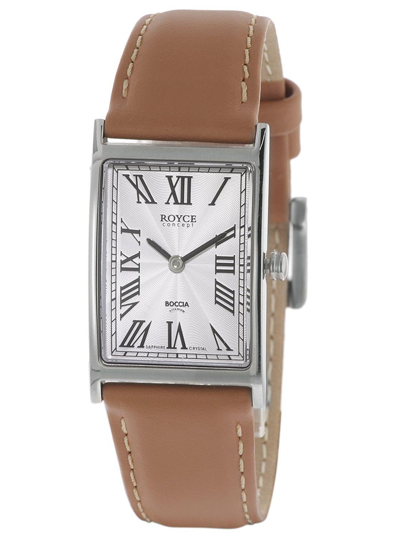 ccec00b51f48e6 Boccia 3285-03 Titanium Ladies  Watch Royce Image ...