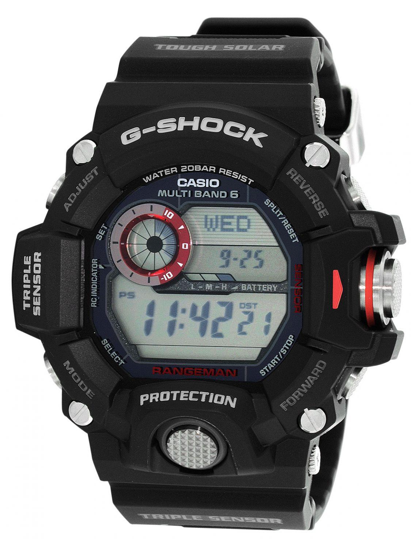 7cb48fb15832 Casio GW-9400-1ER G-Shock Radio Solar Mens Watch Image 1 ...