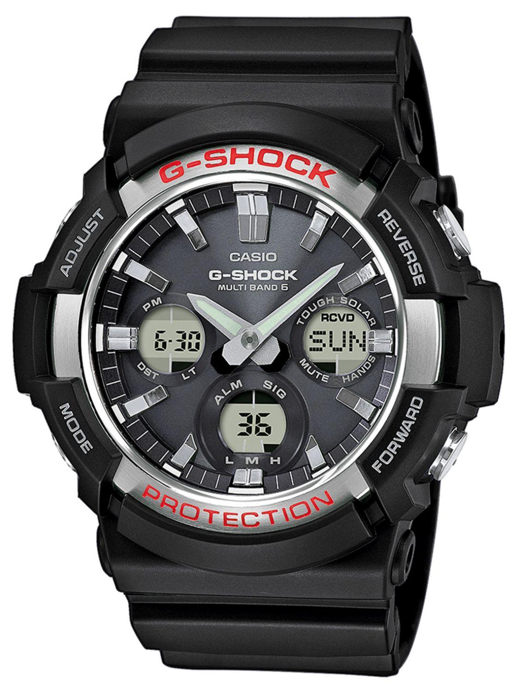 55649a642 Casio GAW-100-1AER G-Shock AnaDigi RC Solar Mens Watch Image 1 ...