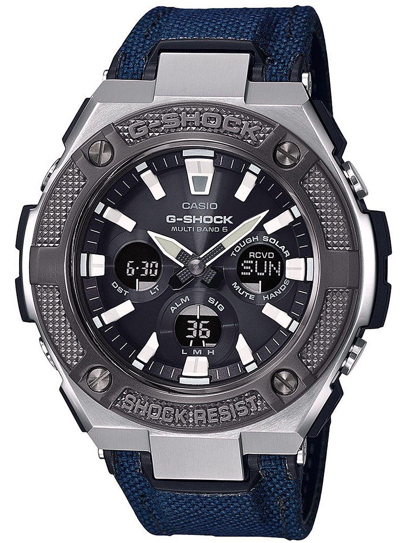 ed61b6983d2e9 Casio GST-W330AC-2AER G-Shock Steel RC Solar Men s Watch Image ...