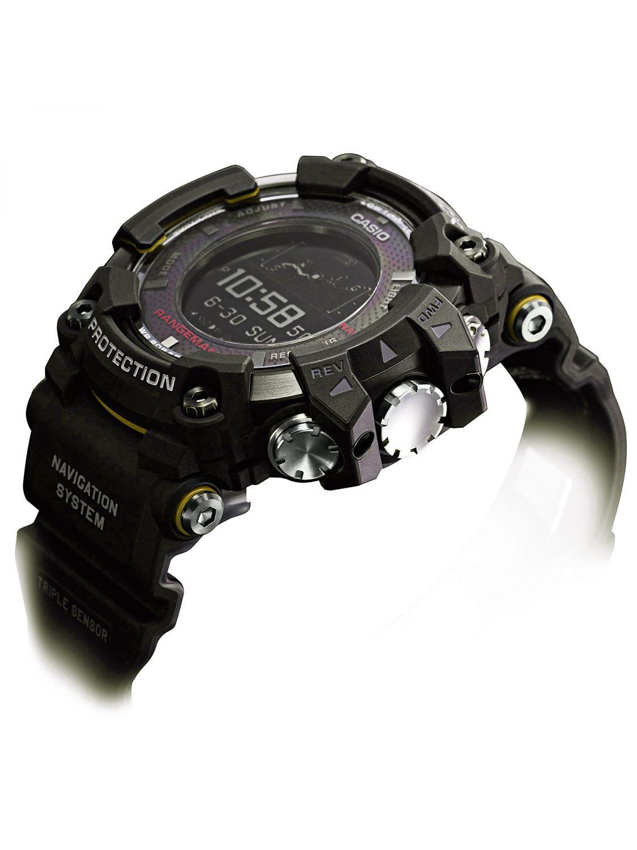 95a662125f545 ... Casio GPR-B1000-1BER G-Shock Rangeman Mens Watch Bluetooth GPS  Navigation Image ...