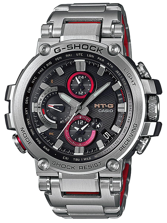 09bcd504c40b Casio G-Shock MT-G Radio-Controlled Solar Watch MTG-B1000D-1AER