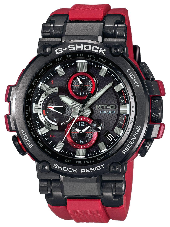 c6024e193401 Casio G-Shock MT-G Radio-Controlled Solar Watch MTG-B1000-1A4ER