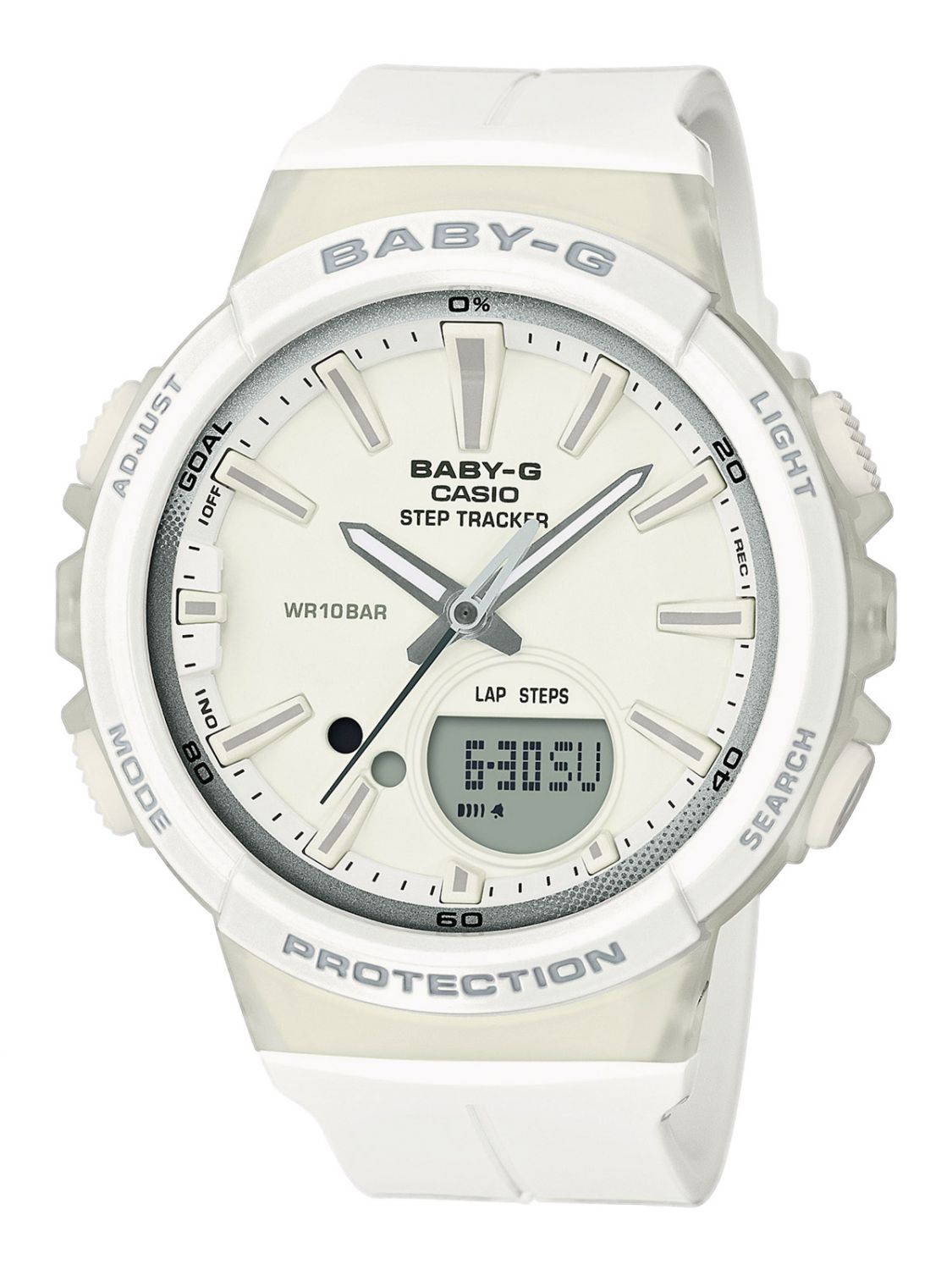 a38934e69 Casio BGS-100-7A1ER Baby-G Step Counter Ladies Watch Image 1 ...