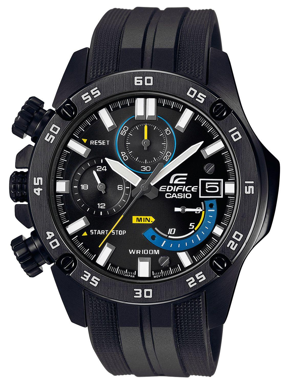 cdfb85673d75 Casio EFR-558BP-1AVUEF Edifice Mens Watch Chronograph Image 1 ...