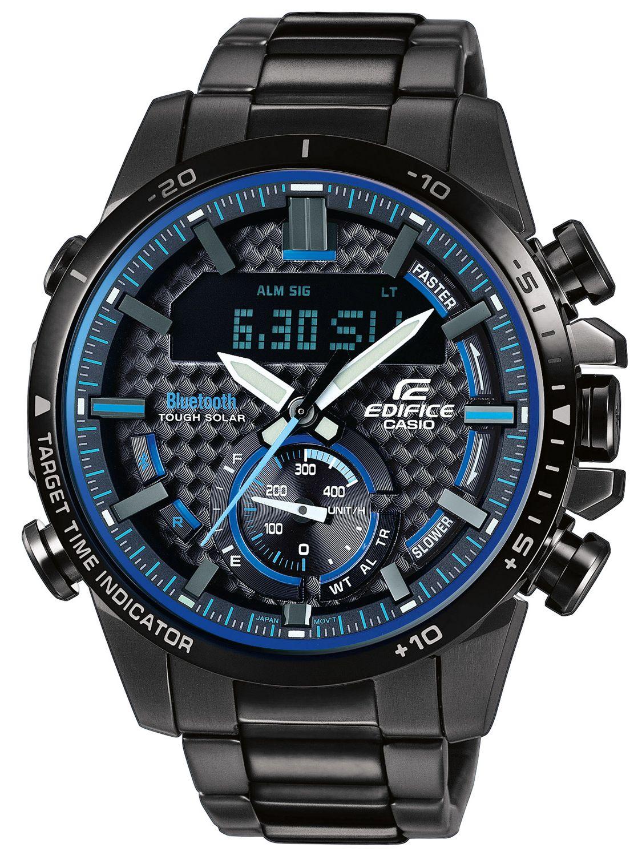8c381d251 Casio ECB-800DC-1AEF Edifice Men's Chronograph Solar Watch Bluetooth Image  ...