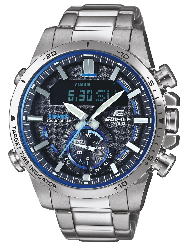 9c9ae1ba05fd Casio ECB-800D-1AEF Edifice Men s Chronograph Solar Watch Bluetooth Image  ...