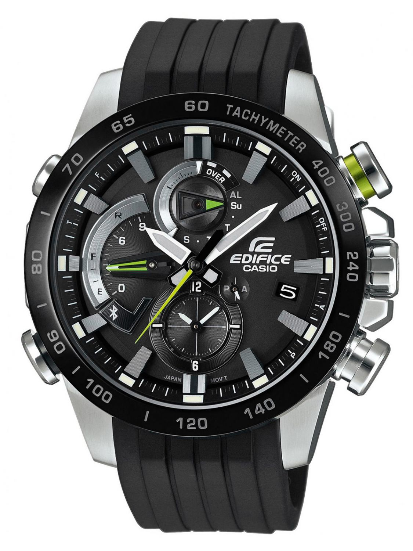 422b8b9aa Casio EQB-800BR-1AER Edifice Bluetooth Chronograph Men´s Watch Image 1 ...