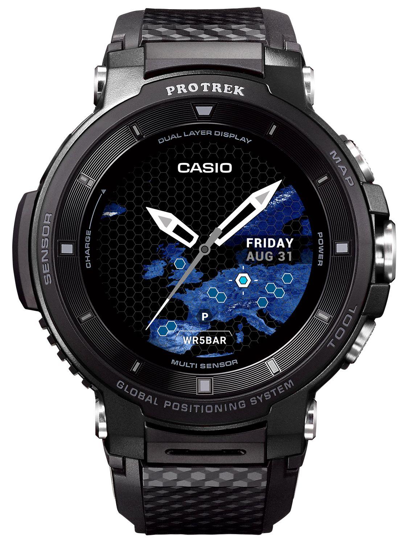 63bfa8e8b0e0 CASIO Pro Trek Smart Outdoor Watch GPS Black WSD-F30-BKAAE