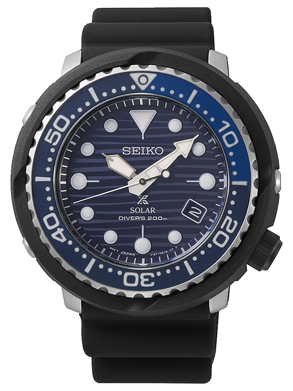 a13b9d197 Seiko SNE518P1 Prospex Tuna Solar Men's Diver Watch Save the Ocean Image ...
