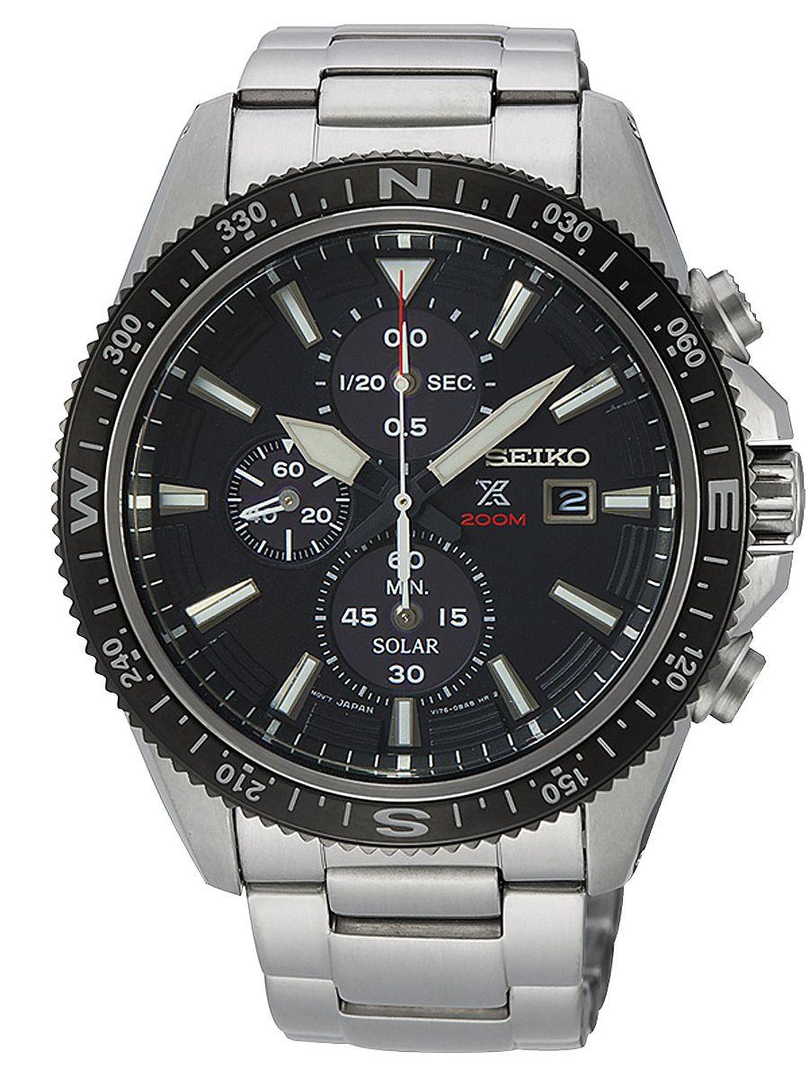a390d6647 Seiko SSC705P1 Prospex Solar Men´s Watch Chronograph Image 1 ...