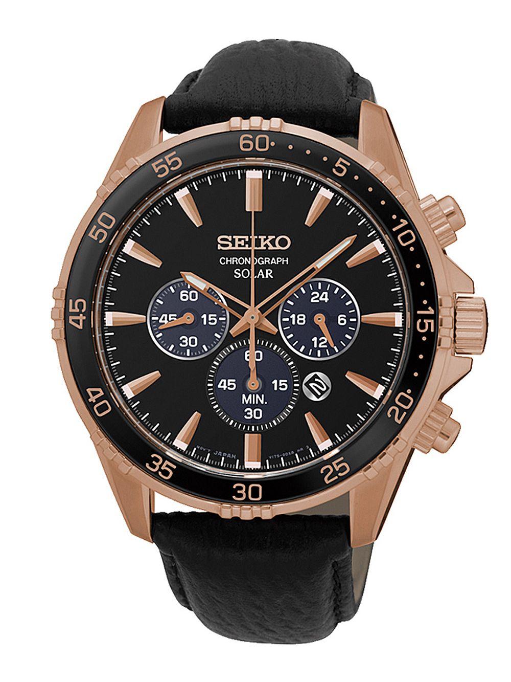 82833ccfe Seiko SSC448P1 Solar Men´s Watch Chronograph Image 1 ...